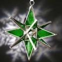 Light Green Glass Ornament