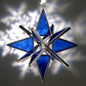 Dark Blue Glass Ornament